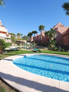 There are 2 pools at Bahia de Casares