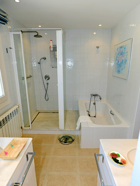 The Master ensuite bathroom at La Calma, Estepona, Spain
