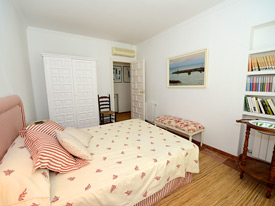 Double bedroom at La Calma, beach front villa