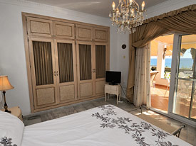 The master bedroom at Casa Cuig, Duquesa, Costa del Sol