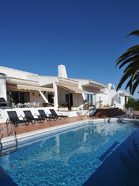 Enjoy the pool at Casa Cuig, holiday villa for rent