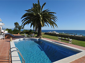 Cool off in your own private pool at Casa Cuig, holiday villa, Duquesa